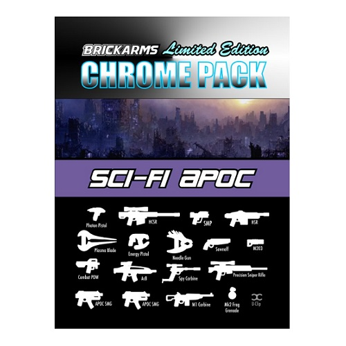 CHROME SciFi Apoc Limited Edition Weapon Pack