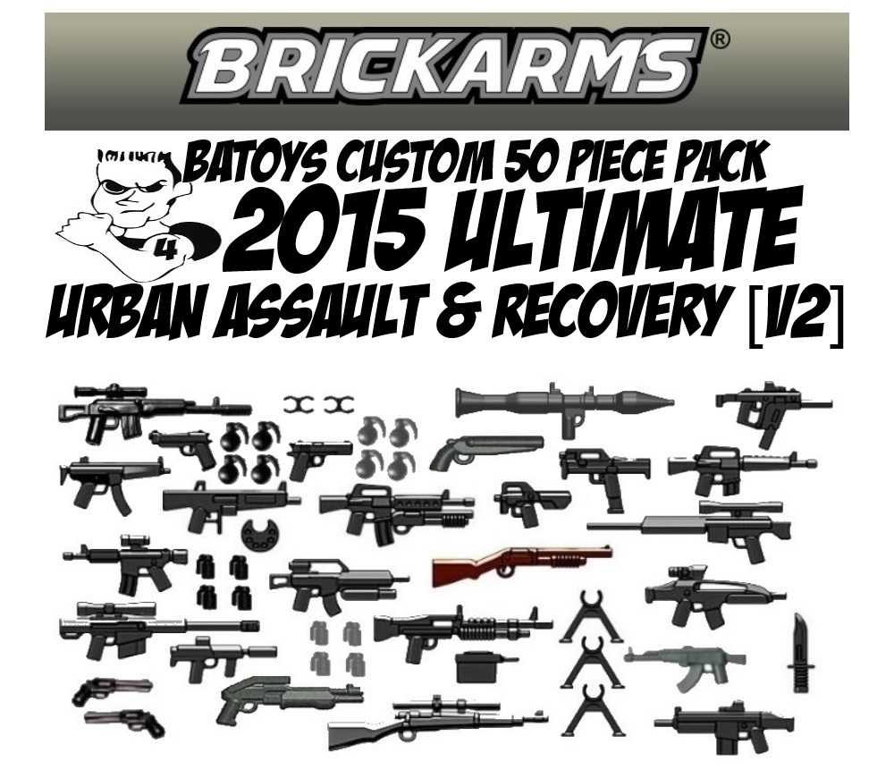 BA Toys Custom Call of Duty 42 Piece Urban Assault Pack