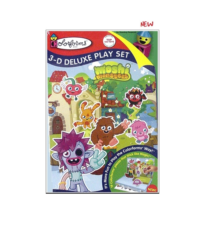 Moshi Monsters 3D Deluxe Playset