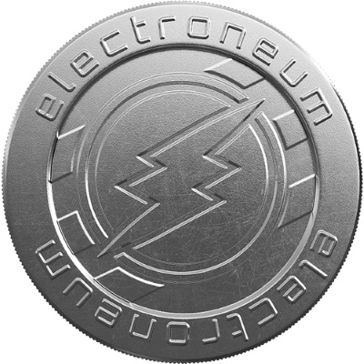 Electroneum Cryptocurrency Coin.