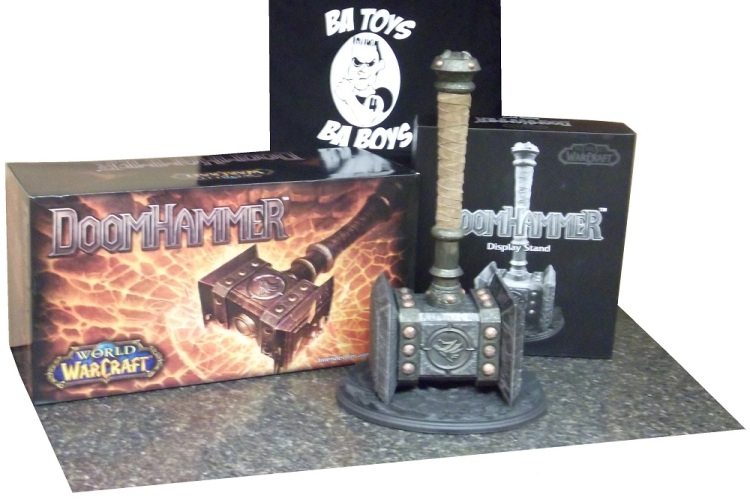DoomHammer Prop Replica WITH Base
