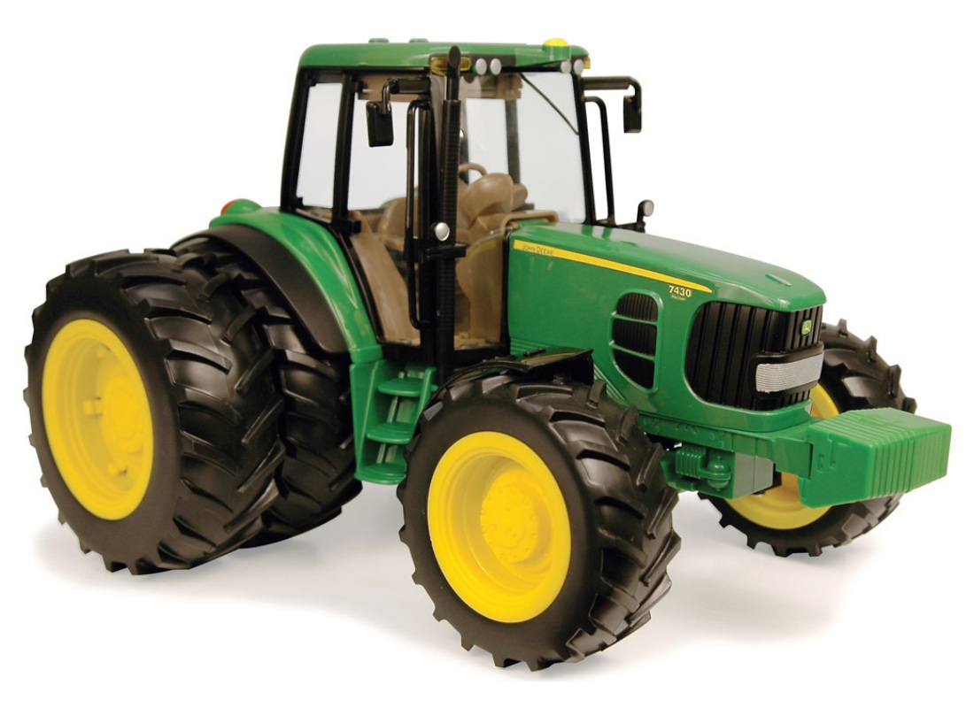 JD 7430 Tractor with Duals 1:16 Scale