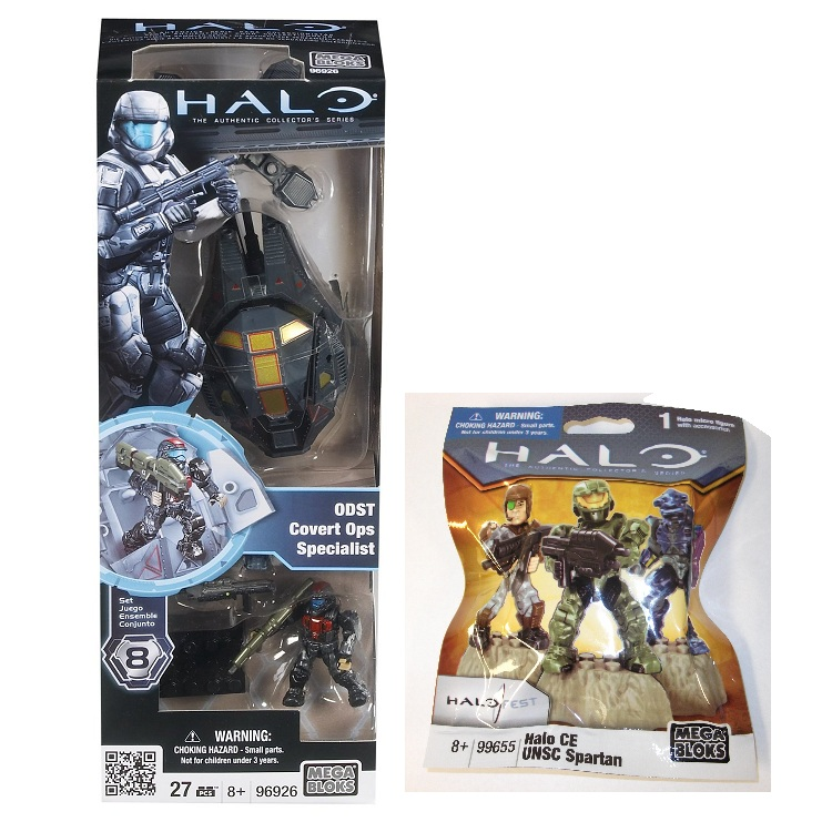 ODST Covert Ops  Specialist 96926 & 2011 Halo Fest CE UNSC Spartan 99655