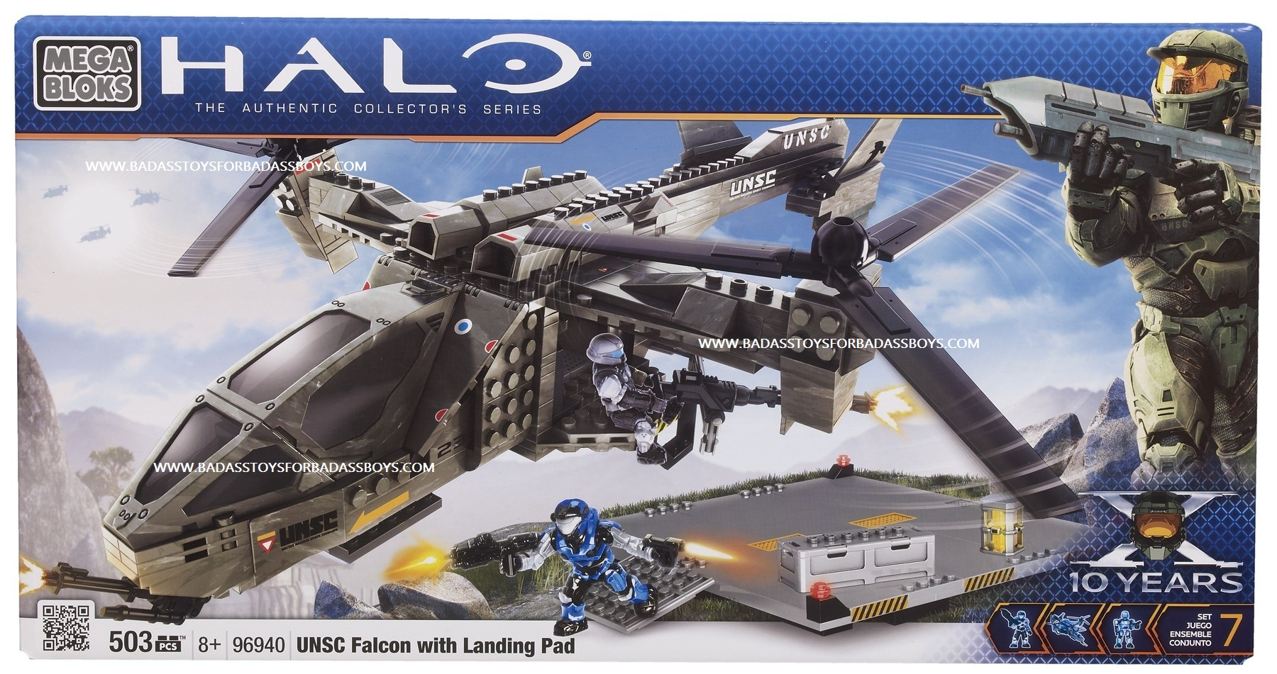 UNSC Falcon with landing pad
