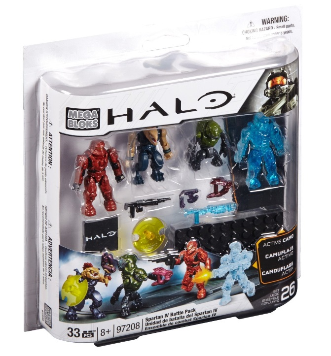 Halo Combat Unit & Battle Pack by Mega Bloks