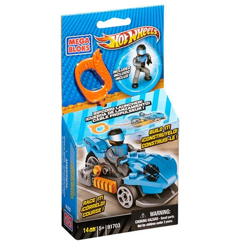 HW Precision Luge [Blue Ripcord Racer]