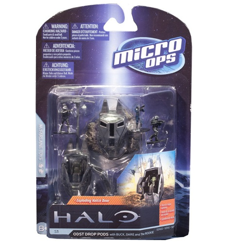 Micro Ops Series 1 ODST Drop Pods