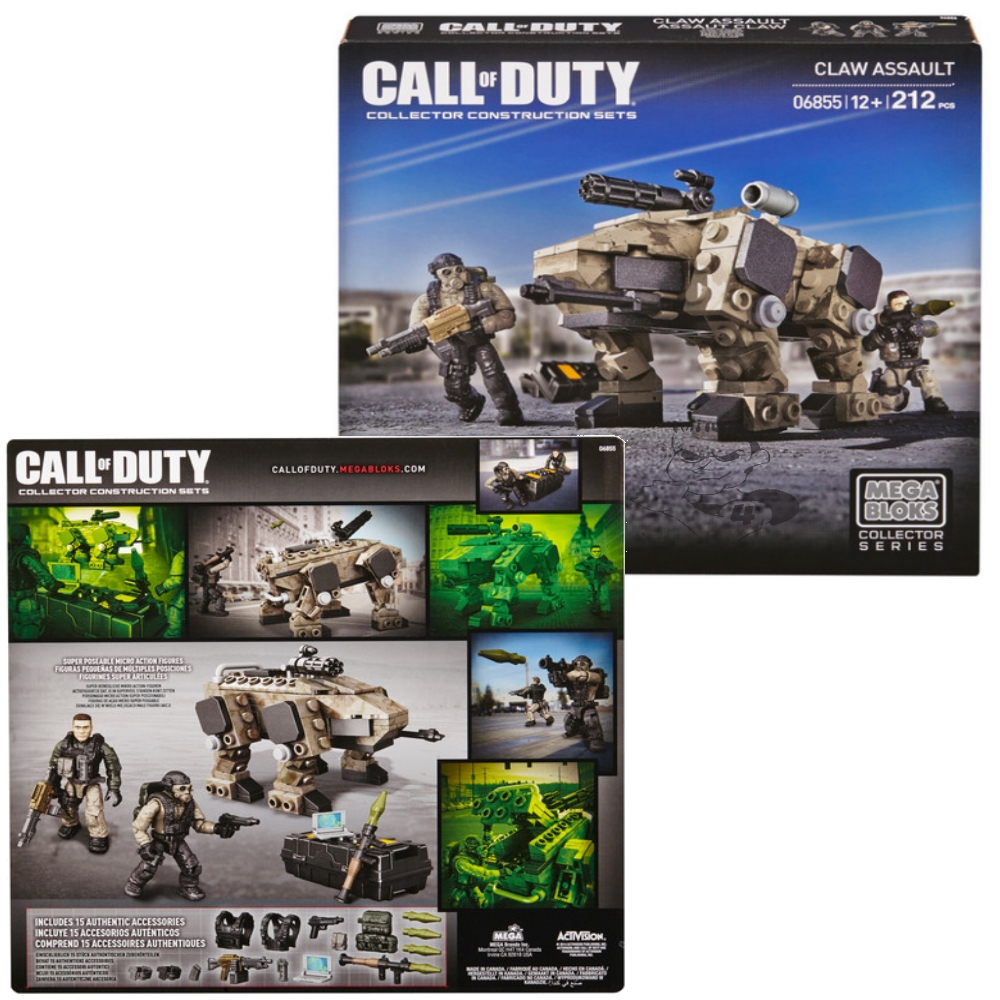 CLAW Assault by Mega Bloks Call of Duty