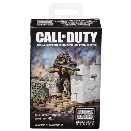 Ghilly Suit Sniper by Mega Bloks Call of Duty