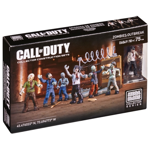 Zombies Outbreak by Mega Bloks Call of Duty