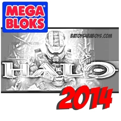 Halo Armory Pack VI Case of 12 by Mega Bloks Halo