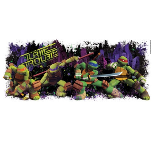 Turtle Trouble Wall Decal