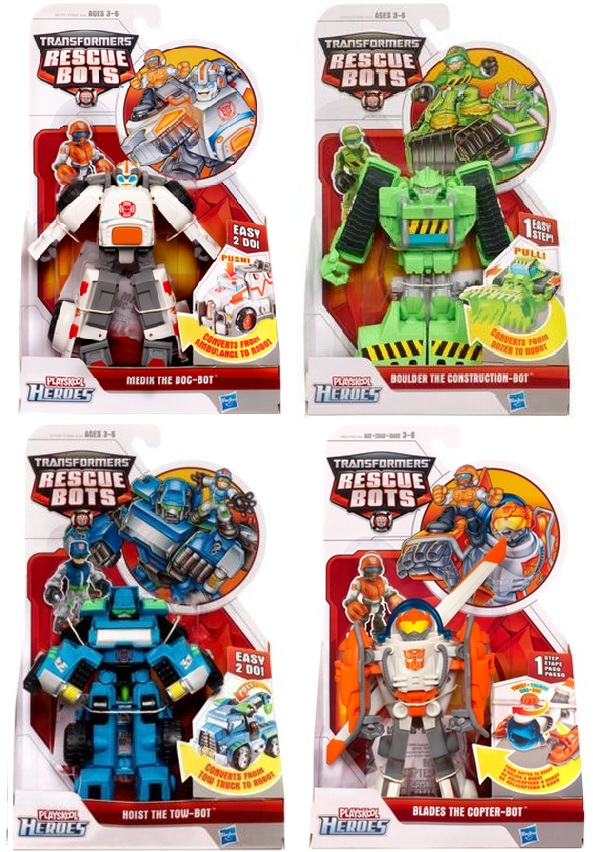 Rescue Bots Series 5 Set of 4