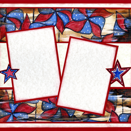 4th of July Fun - Quick Page Set - Right Side