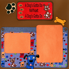 A Dog's Gotta Do - Quick Pages Set - Left & Right