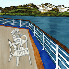 Aboard the Cruise Ship - Print