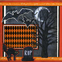 All Hallows Eve - Quick Pages Set - Left & Right