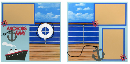 Anchor's Away Quick Pages Set
