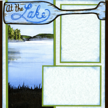At The Lake - Quick Pages Set - Left & Right