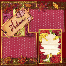 Autumn Leaves - Quick Pages Set - Left & Right