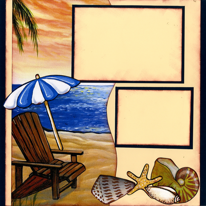 Beach Hideaway (Page Kit) - Left
