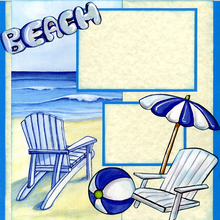 Beach Retreat (Page Kit) - Left