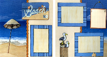 Beach Retreat Quick Pages Set