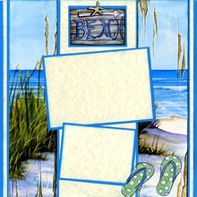Beach Walk (Page Kit) - Left