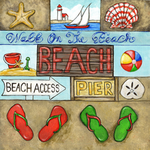 Beach Walk Tags