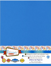 Blue Peppermint / Letter Size / 25 Sheet Pack