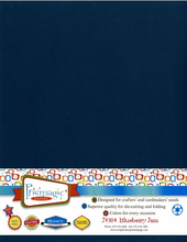 Blueberry Jam / Letter Size / 25 Sheet Pack