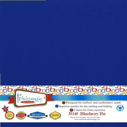 Blueberry Pie / 50 Sheet Pack