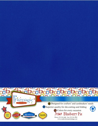 Blueberry Pie / Letter Size / 25 Sheet Pack