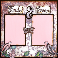 Bride & Groom -  Right