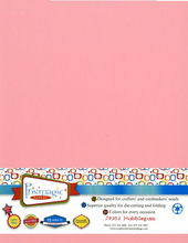 Bubblegum / Letter Size / 25 Sheet Pack