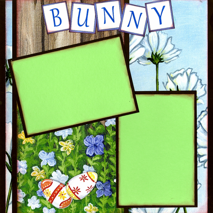 Bunny Trail - Quick Pages Set - Left & Right