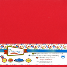 Candy Cane Red / 25 Sheet Pack