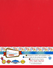 Candy Cane Red / Letter Size / 25 Sheet Pack