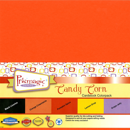 Candy Corn Cardstock Colorpack