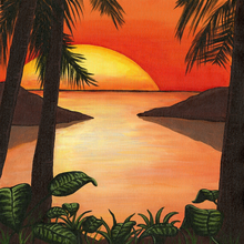 Caribbean at Sunset - PRINT