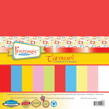 Carousel Cardstock Color Pack - 30 heavyweight sheets in 10 vibrant colors