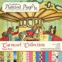 Carousel Collection Pack - 8 doubled sided prints plus 3 cut-out sheets