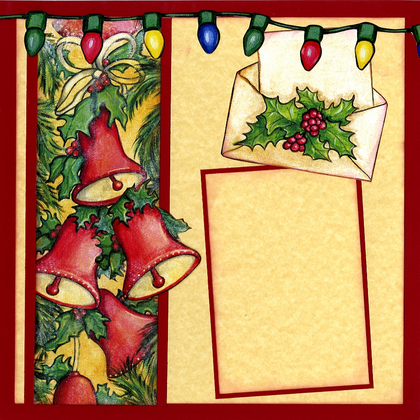 Christmas Bells - Quick Page Set - Left & Right