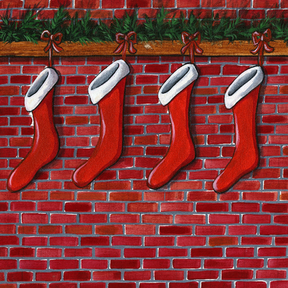 Christmas Stockings - PRINT