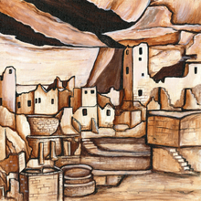 Cliff Dwellings - Print