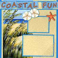 Coastal Fun (Page Kit) - Left