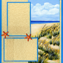 Coastal Fun Quick Page Set - Right