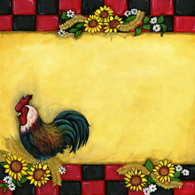 Country Rooster - PRINT