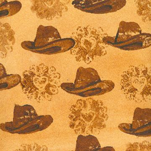Cowgirl Hats - Print