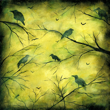 Creepy Crows - Print